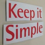 Experiencia: «Keep it simple»